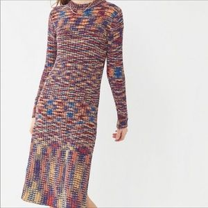 NWT Urban Outfitters chenille sweater dress.